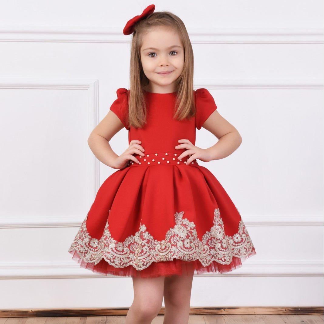 Girl's Kids Dress فستان بناتي kız elbise
