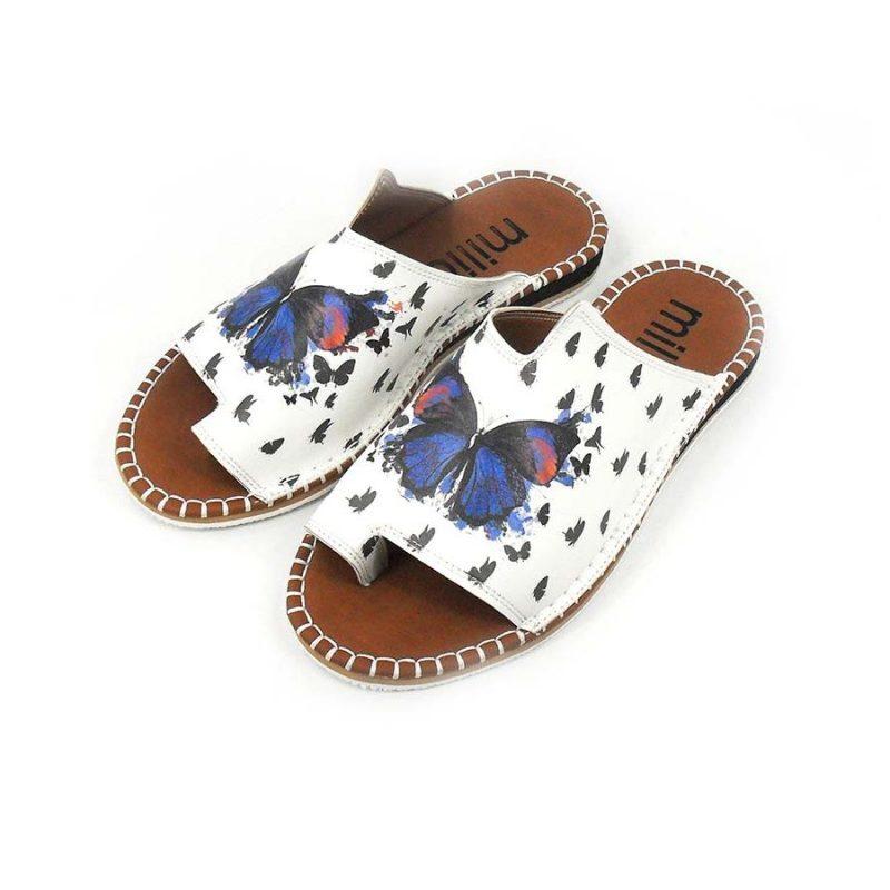 Blue butterfly Slippers
