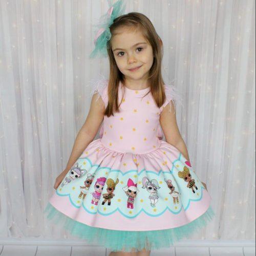 Little Girl's Dress فستان بناتي kız elbise