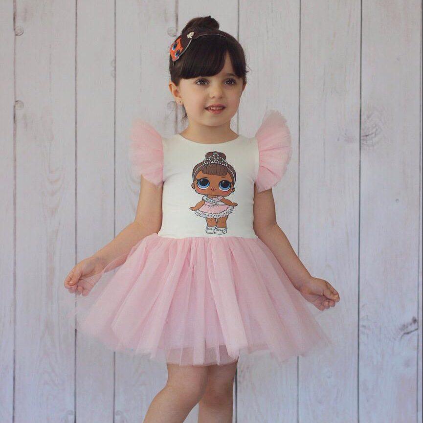 Kids Dress فستان بناتي kız elbise